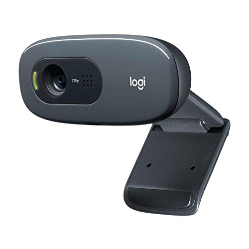 Logitech C270 Webcam, HD 720p, 60°...