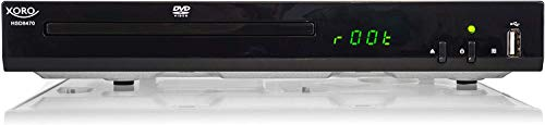 Xoro HSD 8470 HDMI MPEG4 DVD-Player (USB 2.0,...