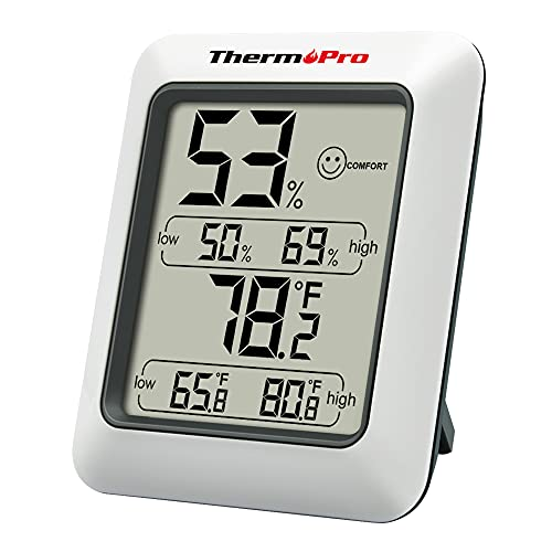 ThermoPro TP50 digitales Thermo-Hygrometer...