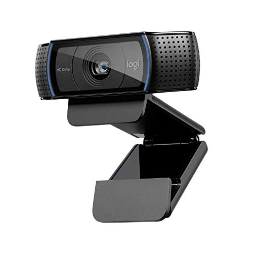 Logitech C920 HD PRO Webcam, Full-HD 1080p,...