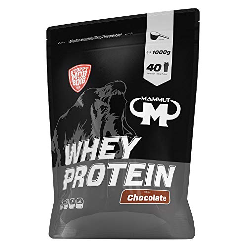 Mammut Nutrition Whey Protein, Chocolate,...