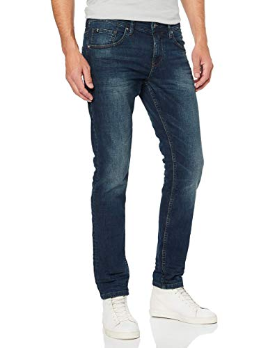 TOM TAILOR Denim Herren Slim Piers Jeans,...