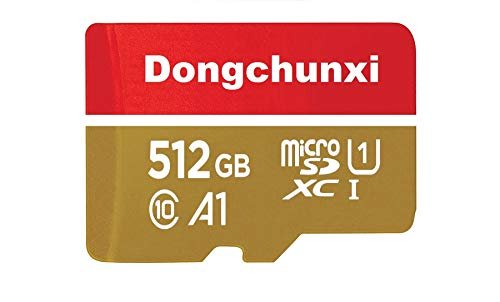 512GB Micro SD Card Memory Card with Adapter...