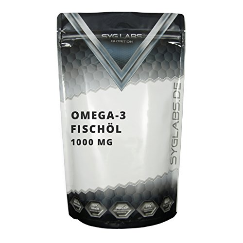 Syglabs Nutrition Omega 3, 1000 mg, 1000...