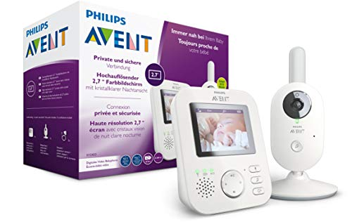Philips AVENT SCD833/26 Video-Babyphone,...