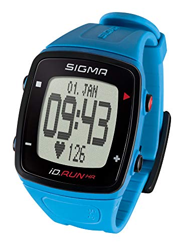 SIGMA SPORT Pulsuhr iD.Run HR Pacific Blue,...