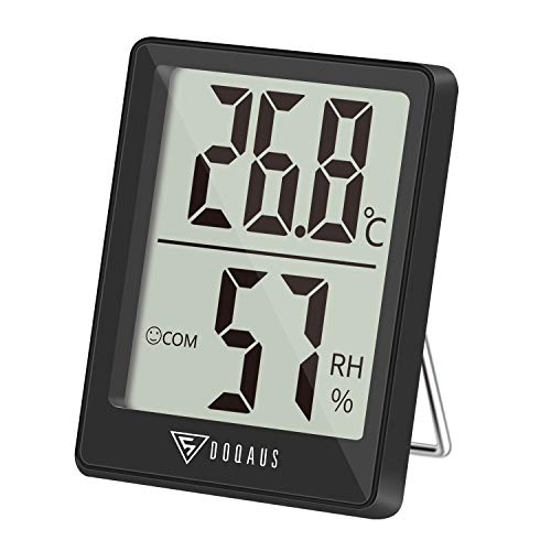 DOQAUS Thermometer Innen, Digitales Thermo...