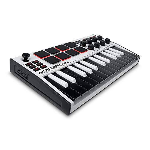 AKAI Professional MPK Mini MK3 White –...