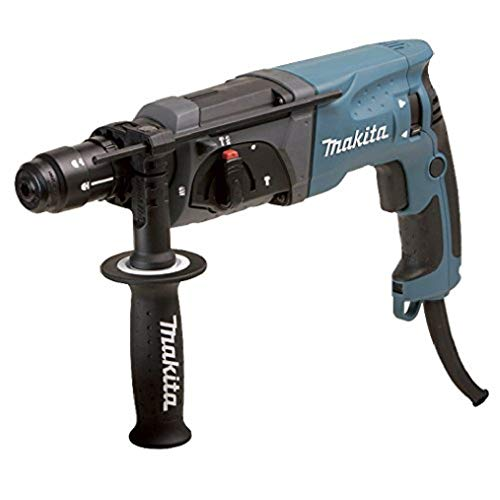 Makita HR2470FT Bohrhammer SDS-Plus, Blau,...