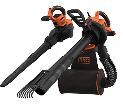 Black+Decker 3-in-1 Elektro Laubsauger &...