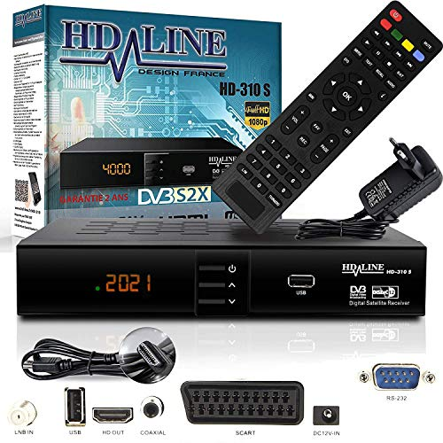 HD-LINE HDMI Receiver Satellit HD Digitaler...