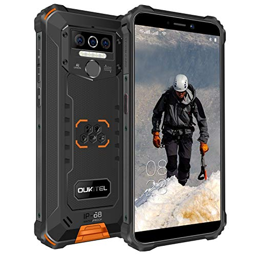 OUKITEL WP5 Pro Outdoor Handy, 4G Dual SIM...