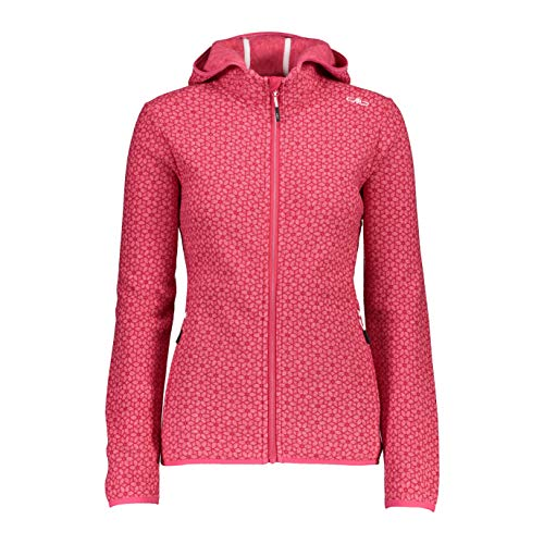 CMP Knitted Jacquard Jacket with Print...