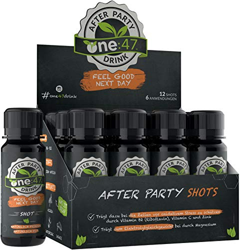 one:47® After Party Drink | 12 Shots |...