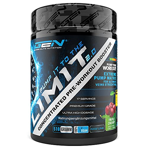 Pump it to the Limit 2.0 - Pre Workout ohne...