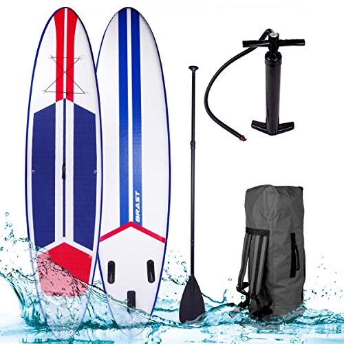 BRAST SUP Board Stand up Paddle Paddling...