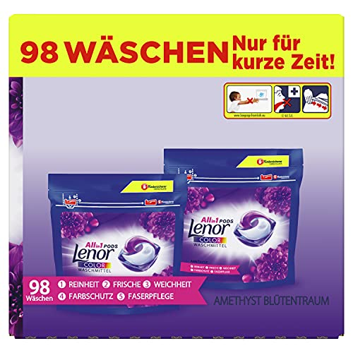 Lenor Waschmittel Pods All-in-1, Color...