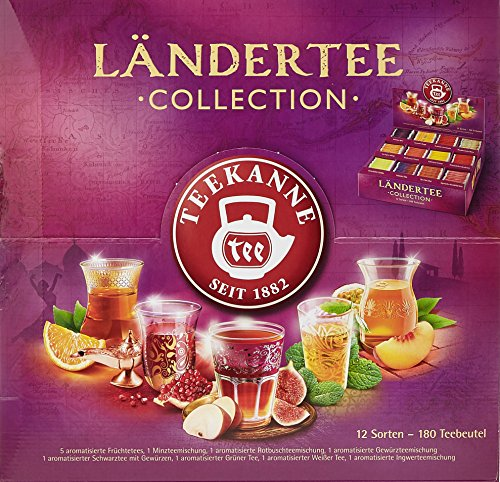 Teekanne Ländertee Collection Box, 1er Pack...