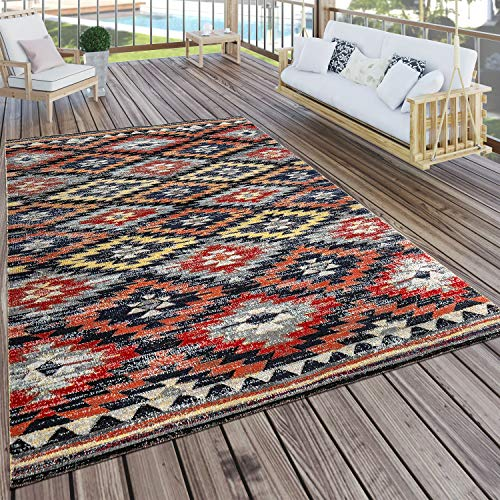 Paco Home In- & Outdoor Teppich Modern...